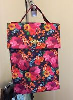 PICKET FENCE DILLARD'S FLORAL INSULATED CANVAS LUNCH TOTE NWT $30
