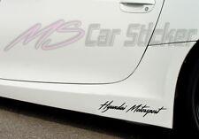 Hyundai Motorsport Auto Aufkleber Sticker Sports Mind KFZ Limited Edition Decal