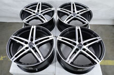 "17"" Wheels Mercedes C300 C350 E320 E350 E550 Audi A4 Allroad Black 5x112 Rims"