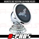 CAR PHONE HOLDER FOR SMARTPHONES GIFT SET MAGNETIC 360 DEGREES ROTATIVE
