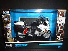 Maisto BMW R1200 RT Police California Highway Patrol 1/18 Motorcycle Bike