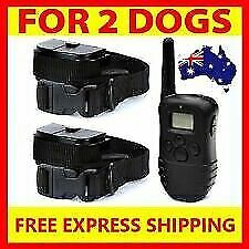 2018 3 IN 1 DOG REMOTE TRAINING ANTI BARK STOP BARKING COLLAR OBEDIENCE DISTANCE
