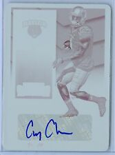 COREY COLEMAN 2016 CONTENDERS 1/1 MAGENTA PRINTING PLATE RC AUTO AUTOGRAPH SP/1