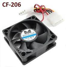 4-Pin Molex 60mm CPU Case / Power Supply Sleeve Bearing Cooling Fan - 700313