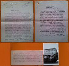 Verghereto 1960 Parrocchia S. Michele Lettere lavori di ristrutturazione rustico