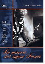DvD LE MISERIE DEL SIGNOR TRAVET Alberto Sordi,G.Cervi DNC