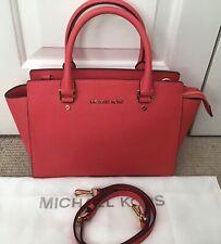 Michael Kors Medium Selma Bag, Mandarin Saffiano Leather, SUPERB CONDITION