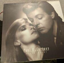 New listing RARE PAUL MCCARTNEY LP PRESS TO PLAY GATEFOLD PCSD103 MINT/NEAR MINT 1986 INNER