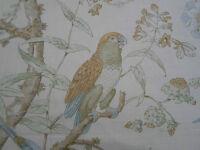 Lee Jofa Curtain Fabric 'Somerfield' 3.5 METRES (350cm) Gold/Lake - Linen Blend