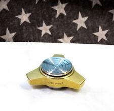 R188 Ceramic Hybrid Bearing, FLPC Button, Mini Pocket Fidget Spinner Made in USA