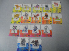 Selection Digimon Pop-Up Cards Smiths Snack Foods Potato Crisps 2000's