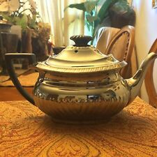 Antique DEVON WARE S. F. & Co. Silverine Plate Teapot England Vintage VTG