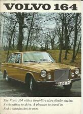 VOLVO  164 SALES BROCHURE 1969 1970