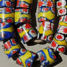 20 old antique venetian cylindrical millefiori african trade beads #3977