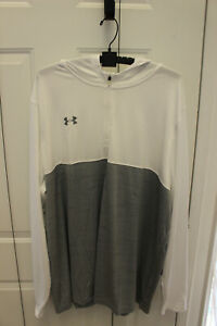 Under Armour White/Grey Pullover 3XL