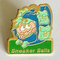 Sneaker Balls Advertising Brand Vintage Lapel Pin Badge (C16)