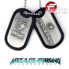 METAL GEAR RISING - Erkennungsmarken mit Kette MSC Logo (Gaya)