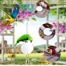 Bird Toy Plastic Mirror Cage For Parrots Small Birds Funny Pet Squirrel Parrot