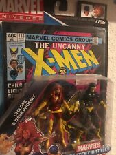 "Marvel Universe 2009 Greatest Battles, 3.75"" Cyclops & Dark Phoenix figure Comic"