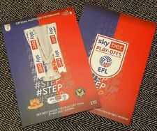 More details for newport county v morecambe skybet league 2 play-off final programme 1/6/2021