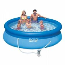"Intex Easy Set 10' x 30"""" Above Ground Swimming Pool with Filter Pump 28122"