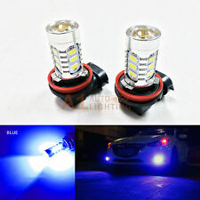 2x Blue H11 H9 H8 15w High Power Bright LED Bulbs 5730 SMD Fog light Replacement