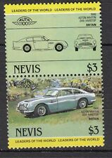 H118) Timbres Neufs MNH (Aston Martin DB6) /NEVIS/ VOITURES-CARS-AUTOMOBILES
