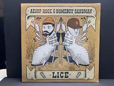 "Aesop Rock & Homeboy Sandman –  12"" Vinyl 33 ⅓ RPM  Rhymesayers EP"