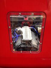 "Alfa Romeo Alfetta GTV6 Maratona style transparent bonnet hood window ""tea tray"""