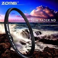 ZOMEI Slim 82mm Fader Variable ND Filter Neutral Density Adjustable ND2 to ND400