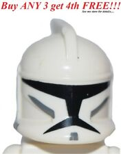☀️Lego Minifig Hat Starwars SW Clone Trooper w/ Holes Standard Pattern Star Wars