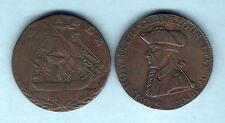 Great Britain. Halfpenny Tokens. 1794 : Hampshire-Portsea & Emsworth (2)
