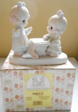 Precious Moments, Porcelain Figurine Friends Are Forever Sew Bee It 1998, W/Box