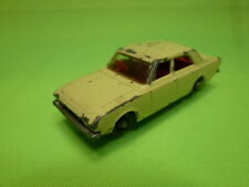 LESNEY MATCHBOX 45 FORD CORSAIR - PALE YELLOW 1:65? - GOOD CONDITION