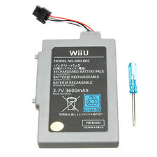 NEW Extended Battery Pack for Nintendo Wii U Gamepad 3600mAh 3.7V Rechargeable