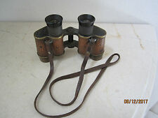 WWI WWII US SIGNAL CORPS BAUSCH AND LOMB BINOCULARS