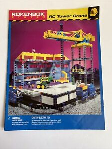 Rokenbok System RC Tower Crane Instruction Manual Part Only