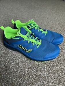Inov8 Parkclaw 275 Mens Trail Running Shoes - Blue/Green - size UK 12