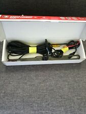 CAR/TRUCK COLOR REAR VIEW BACK UP CAMERA FOR ABOVE LICENSE PLATE WITH WIRING