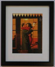 Jack Vettriano Back Where You Belong Framed & Mounted Print Thin Black FREE P+P