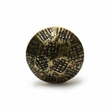 "Antique Hammered Decorative Nail Tacks 7/16"" Head 3/4"" Post Upholstery 1000 Pcs"