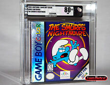 Smurf's Nightmare Holofoil Cover Nintendo GameBoy Color New Sealed VGA 80+ NES
