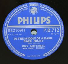 """10"""" 78 - Guy Mitchell - In the Middle of a Dark, Dark Night - Philips PB712"""