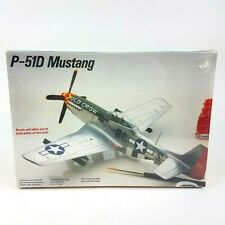 1988 Testors P-51D Mustang Airplane 1/48 Scale Model Kit No. 590 New Sealed