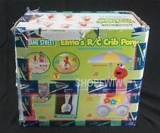 Fisher Price Sesame Street Elmo's RC Crib Pony New