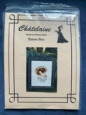 Chatelaine - Victorian Roses Cross Stitch Chart CHAT #014 NEW
