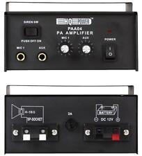 VEHICLE PA AMPLIFIER 20W RMS Audio Visual Amplifiers, VEHICLE PA AMPLIFIER,