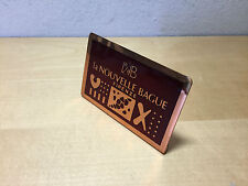 Used - Placa Plaque LA NOUVELLE BAGUE - Display Expositor - For Collectors