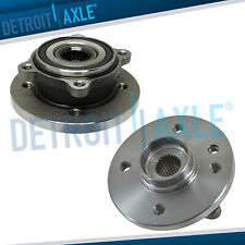 Pair 2 Front Wheel Hub Amp Bearing Assembly For 2002 2003 2004 2006 Mini Cooper