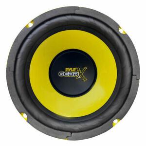 "Pyle 6.5"" Inch 300w Mid Bass Driver Car Speaker Subwoofer Sub Woofer Single"